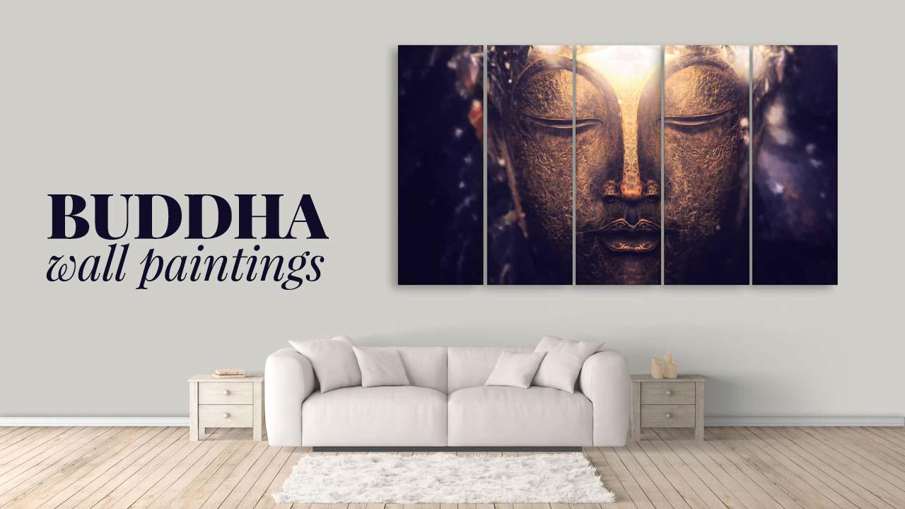 Premium Buddha Wall Paintings