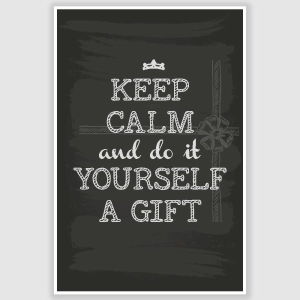 Keep Calm Poster (12 x 18 inch)
