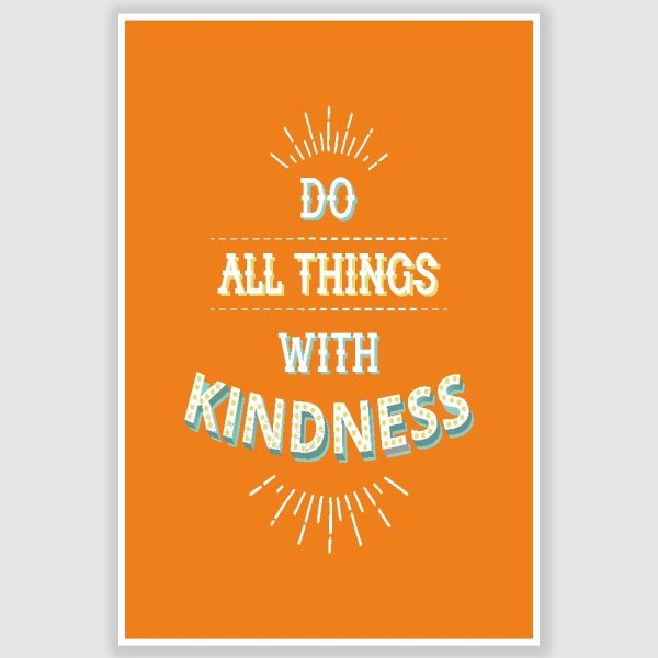 Kindness Poster (12 x 18 inch)