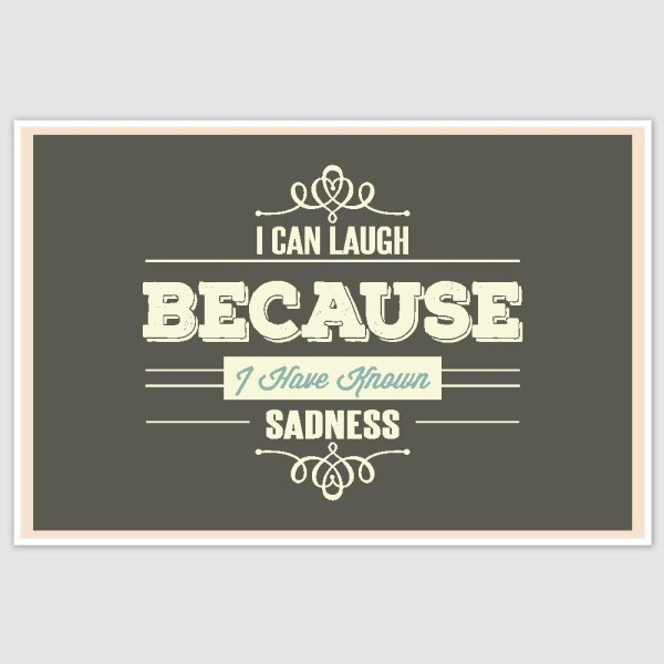 I Can Laugh Poster (12 x 18 inch)