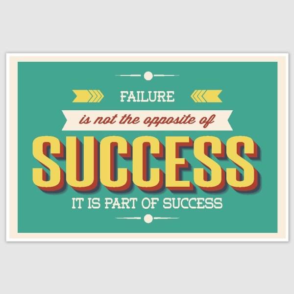 Success Motivation Poster (12 x 18 inch)