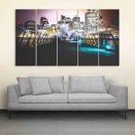 Multiple Frames Bridge Wall Painting (150cm X 76cm)