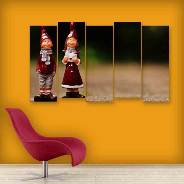 Multiple Frames Miniatures Painting (150cm X 76cm)