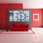 Multiple Frames Raindrops Painting (150cm X 76cm)