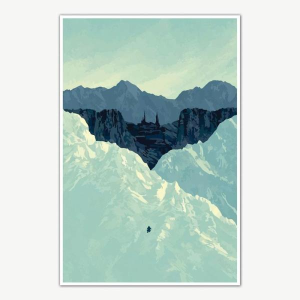 The Dark Knight Trilogy Batman Begins Poster Art | Movie Posters