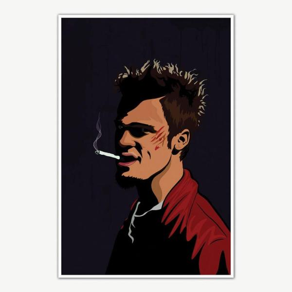 Fight Club Tyler Durden Poster For Room | Movie Posters