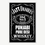 Jatt Daniels Poster Art | Funny Posters For Room