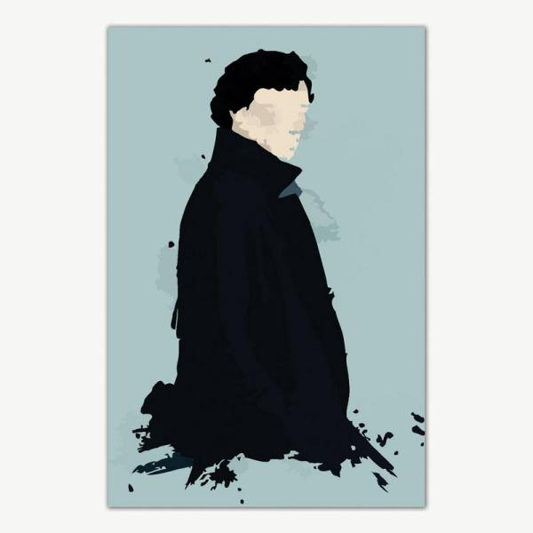 Sherlock TV Series Poster | Sherlock Holmes Posters