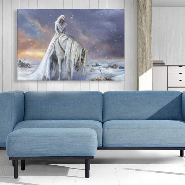 Canvas Painting - Beautiful Fantasy World Art Wall Painting for Living Room