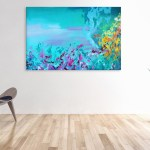 Canvas Painting - Beautiful Modern Abstract Art Wall Painting for Living Room