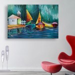Canvas Painting - Beautiful Nature Art Wall Painting for Living Room