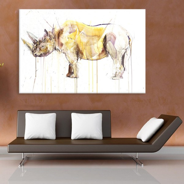 Canvas Painting - Beautiful Wildlife Art Wall Painting for Living Room
