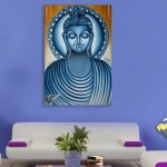 Canvas Painting - Beautiful Lord Buddha Art Wall Painting for Living Room