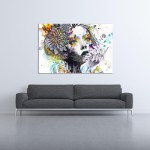 Canvas Painting - Beautiful Women Art Painting for Living Room