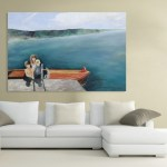 Canvas Painting - Beautiful Family  Art Wall Painting for Living Room