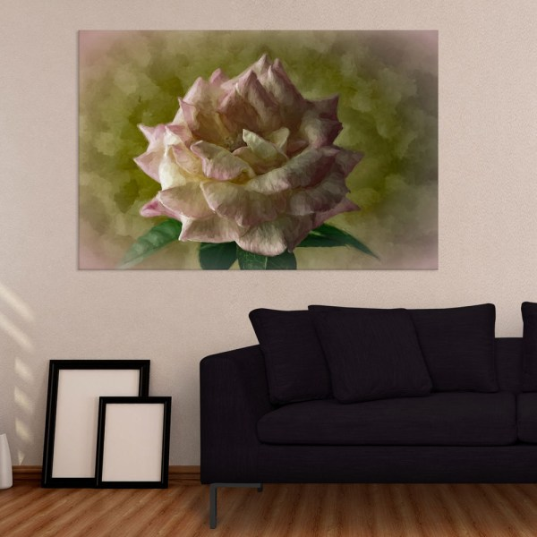 Canvas Painting - Beautiful Flower Floral Art Wall Painting for Living Room