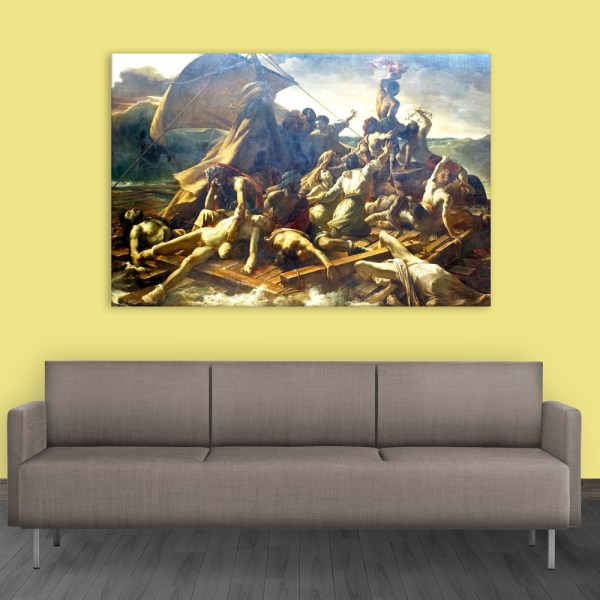 Canvas Painting - The Raft Of The Medusa Art Wall Painting for Living Room