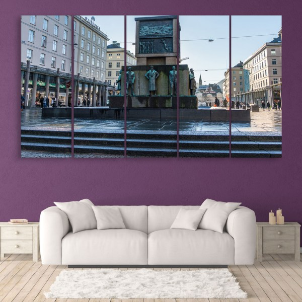 Multiple Frames Beautiful Sculptures Wall Painting for Living Room