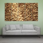 Multiple Frames Beautiful Grains Wall Painting for Living Room
