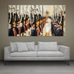 Multiple Frames Beautiful Miniatures Wall Painting for Living Room