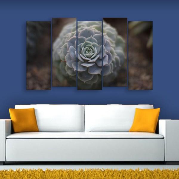 Multiple Frames Flower Wall Painting for Living Room
