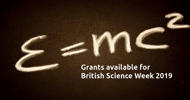 British Science Week 2019 - image and web link