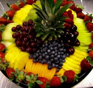organic fruit catering meal prep