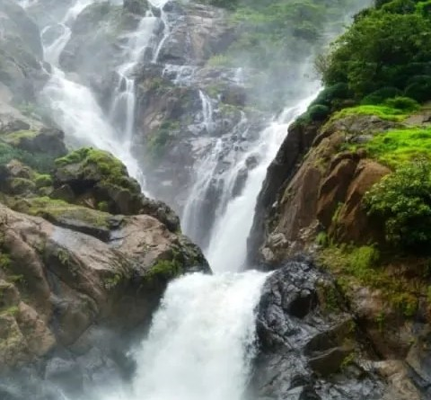 "A splendid monsoon destination called ""Dudhsagar Falls"""
