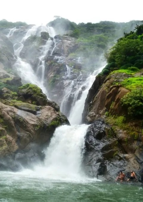 dudhsagar Waterfalls India