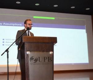 Joaquin Morales Belpaire, Ph.D. de la Universidad Privada Bolivianas