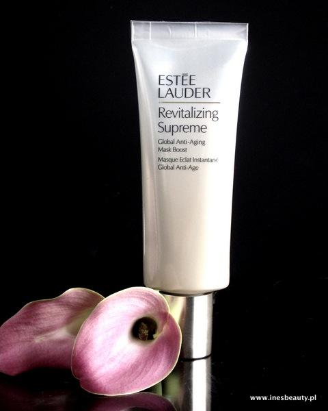 Nowa maseczka Estee Lauder Revitalizing Suprem Global Anti-aiging mask boost