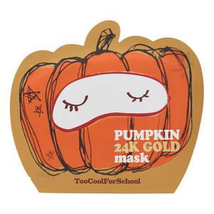 Pumpkin 24k Gold Mask, Too Cool For School