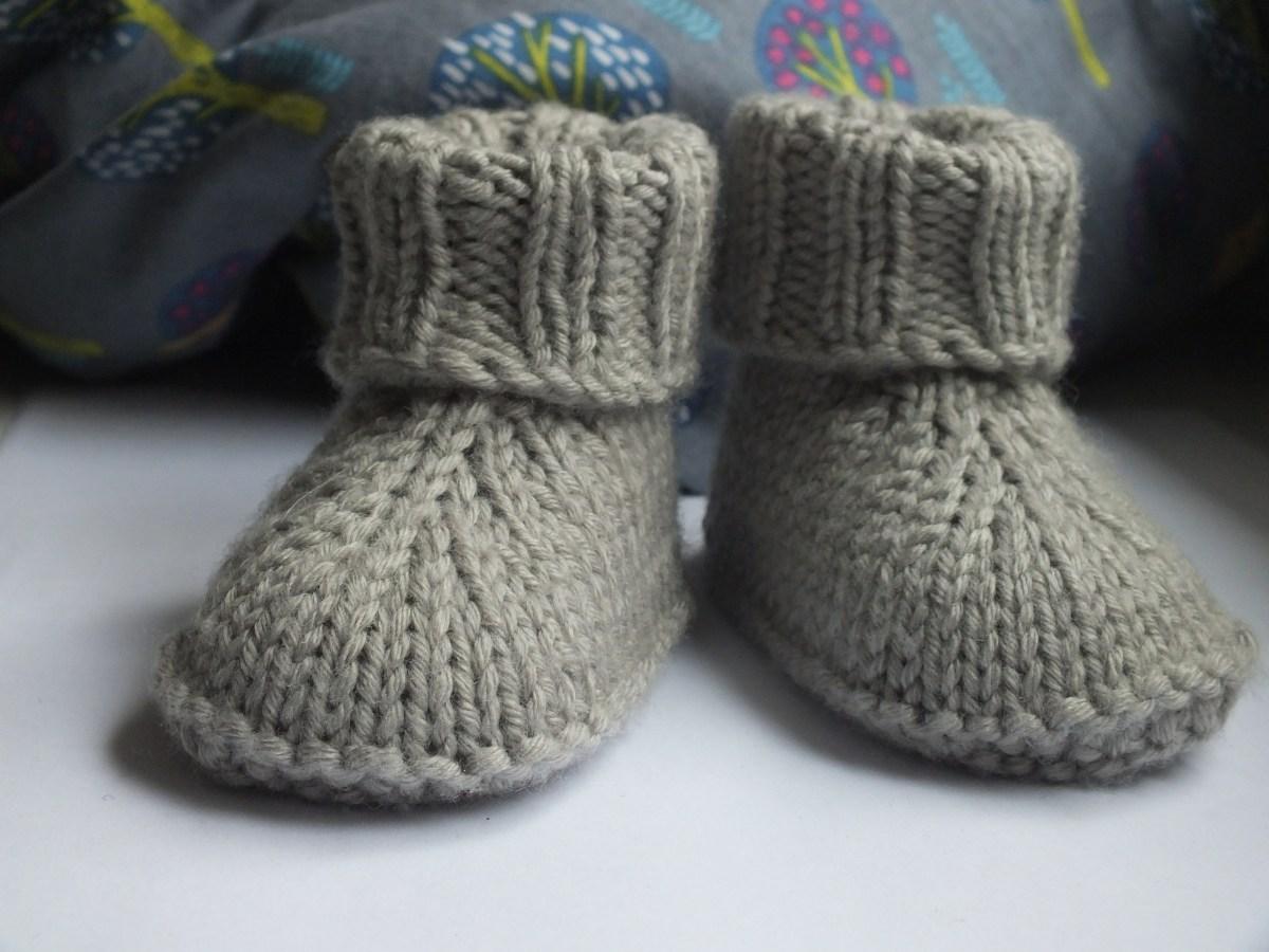 Baby-Hausschuhe (English)