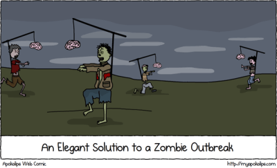 Simple Solutions to Zombie Outbreak