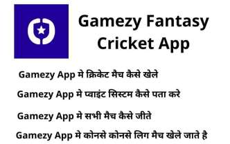 Gamezy Fantasy Cricket App main question cover