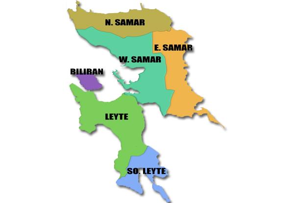 Eastern-Visayas-map