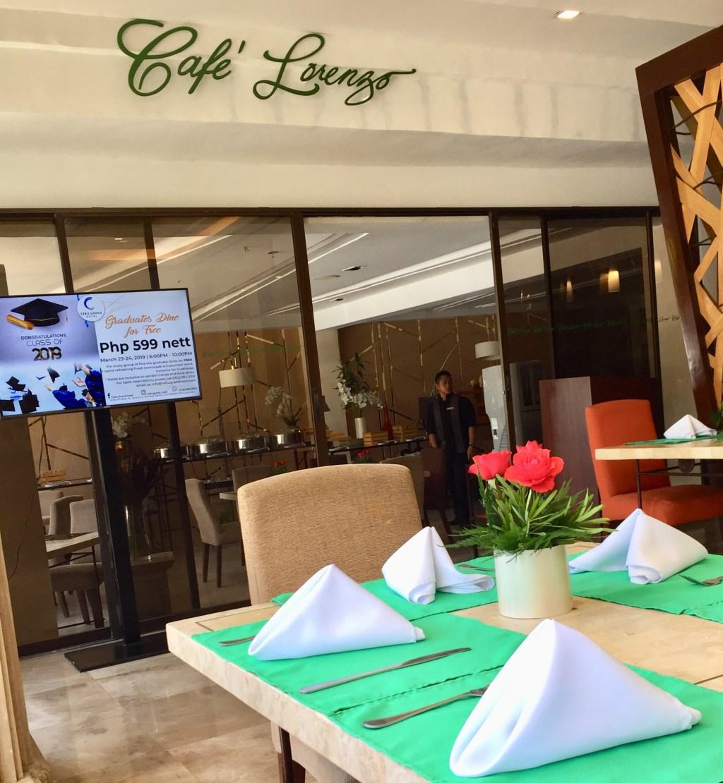 Cebu Grand - Cafe Lorenzo