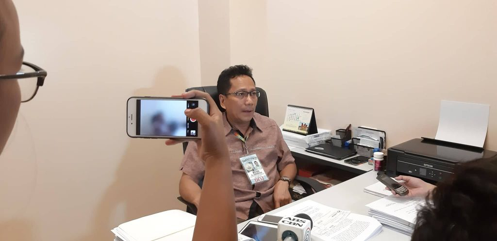 Lapu-Lapu City Prosecutor Ruso Zaragoza