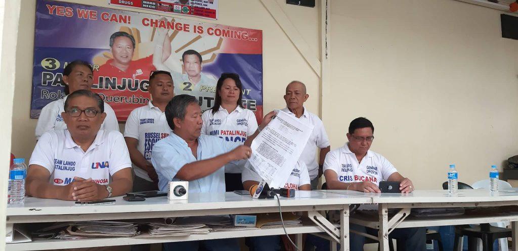Rolando Patalinghug showed docs that disqualifies Junard Chan