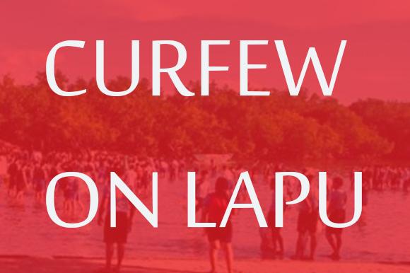 curfew on lapu