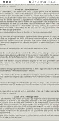 Article - City Administrator