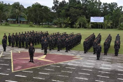 The army trained ISO policemen 2