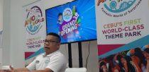 Cedric Reyes, Anjo World Sales and Marketing head in a presscon