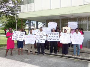 University-protest