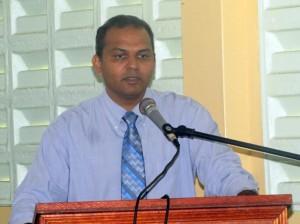 Sport Minister, Dr. Frank Anthony