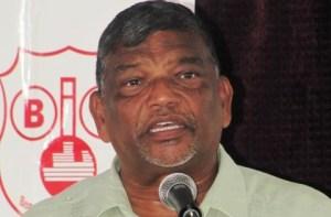 Former Minister of Labour, Dr. Nanda Gopaul.