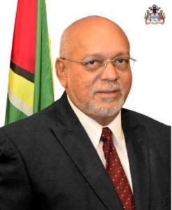 President of Guyana, Donald Ramotar.