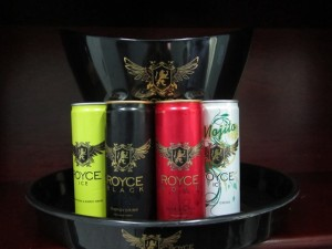 The four Royce energy drinks. [iNews' Photo]