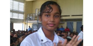 Guyana's Top Performer, Zimeena Rasheed wrote 20 subjects at this year's CSEC.