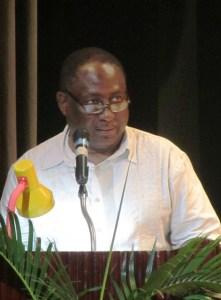 President of the GPSU, Patrick Yarde. [iNews' Photo]